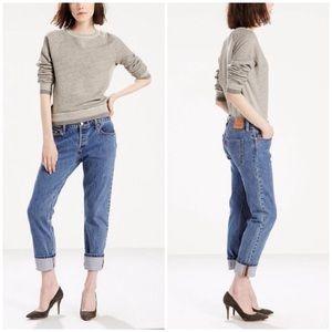 LEVIS 501 CT womens jeans pants denim button fly